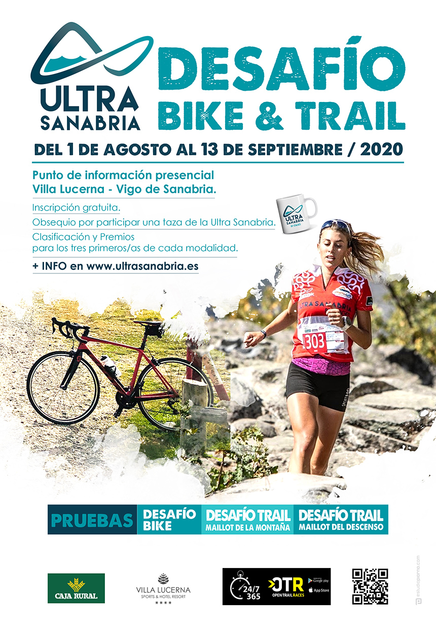 Cartel Desafío Bike & Trail